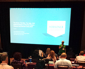 CCC Education Planning Initiative attends Hobsons University 2016 in Las Vegas, Nev.