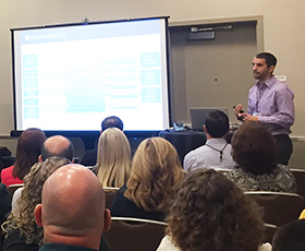 Mike Caruso, CCC MyPath Product Manager, presents at CISOA & 3CBG 2017