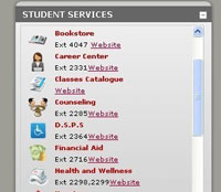 Student Services Information Access