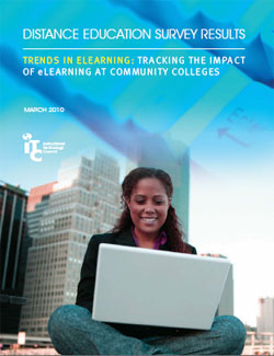 Cover of the Distance Education Survey from the Instructional Technology Council