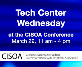 Tech Center Wednesday at CISOA Conference, March 29, 2017