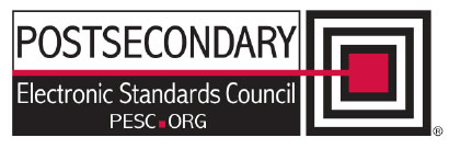 Postsecondary Electronic Standards Council logo