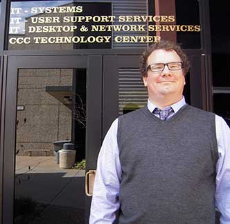 Jeff Holden, Information Security Officer, CCC Technology Center