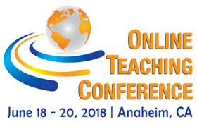 Online Teaching Conference 2018 logo