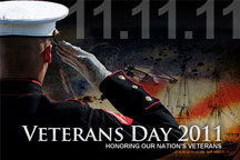 Veterans Day 2011: 11-11-11: Honoring Our Nation's Veterans