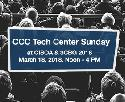 CCC Tech Center Sunday at CISOA & 3CBG 2018, March 18, 2018, from noon to 4 pm
